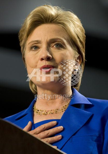Hillary Clinton wears Marco Bicego