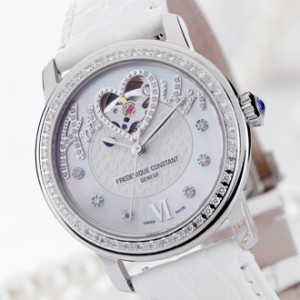 "FREDERIQUE CONSTANT Ladies Automatic ""Amour"" Heart Beat by Shu Qi"